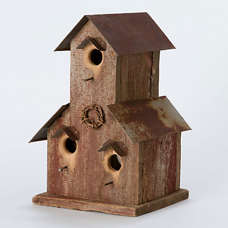 Weathered Granary Birdhouse