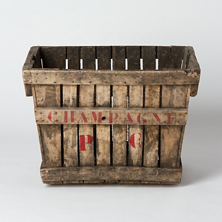 Champagne Grape Crate
