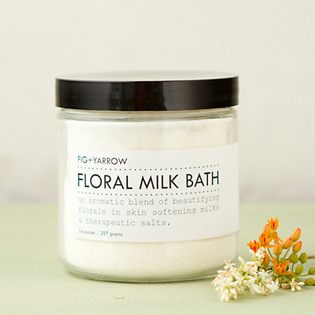 Fig+Yarrow Floral Milk Bath