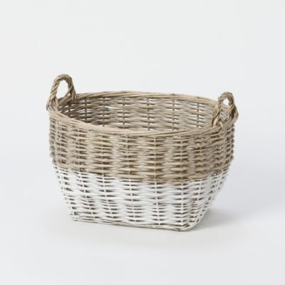 Colorblock Utility Basket, Small