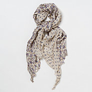 Dotted Bouquet Scarf