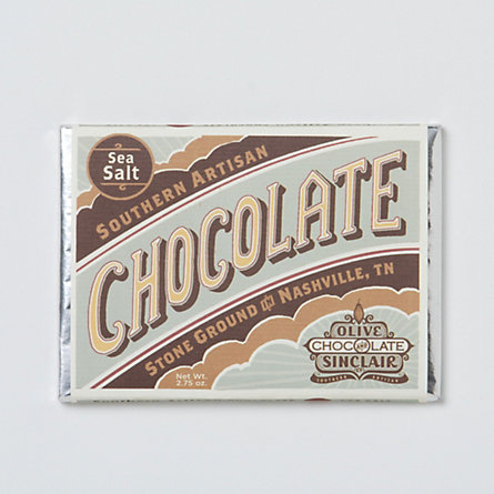 Olive & Sinclair Sea Salt Chocolate Bar