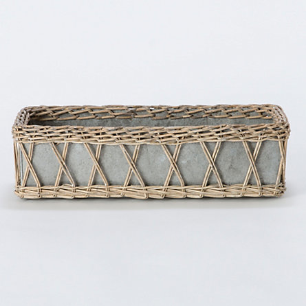 Willow Lattice Window Box