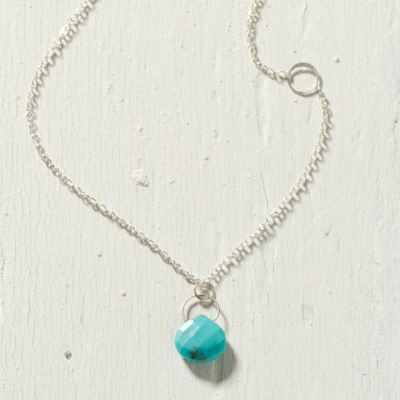 Turquoise Gravity Necklace