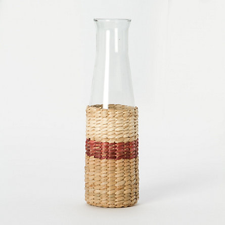 Striped Sea Grass Carafe