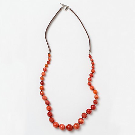 South Seas Necklace, Coral