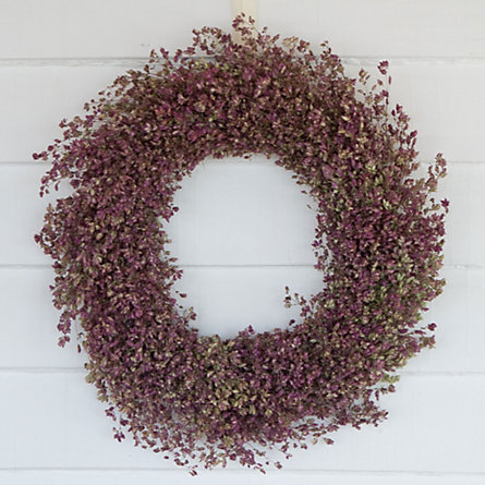Ornamental Oregano Wreath