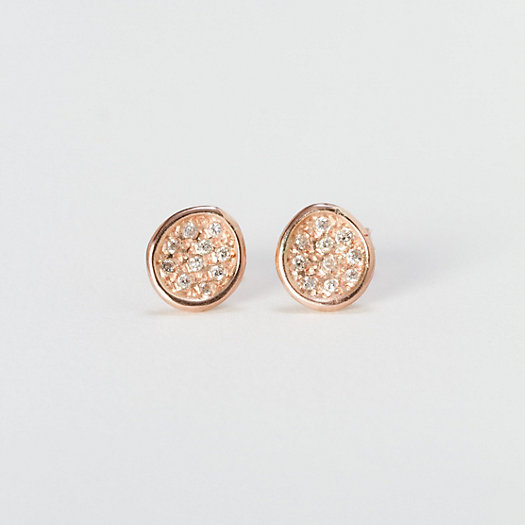 Pave Puddle Earrings