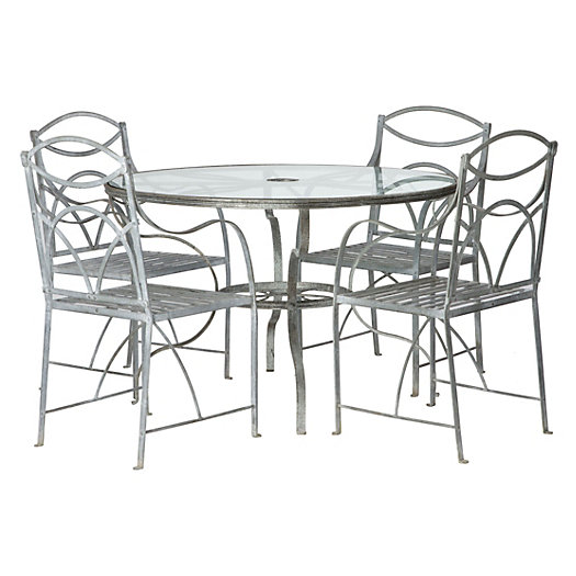 McKellar's Ironwork Dining Set