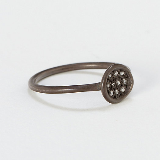 Pave Puddle Ring