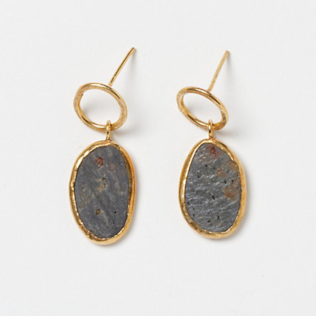 River Rock Drop Earrings