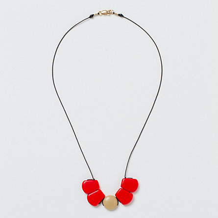 Caramel Dot Necklace