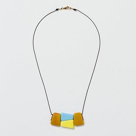 Glass Geometry Necklace