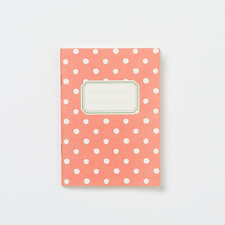 O-Check Polka Dot Notebook