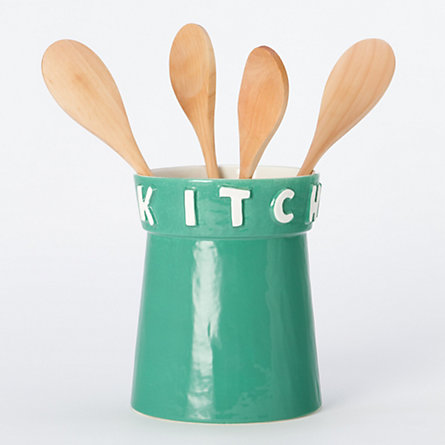 Kitchen Utensil Jar