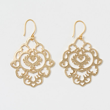 Old World Filigree Earrings