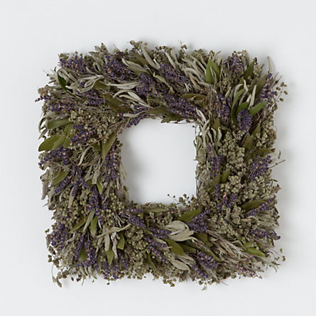 Lavender Field Wreath