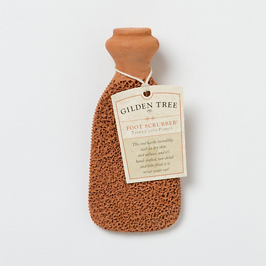 Terracotta Foot Scrubber