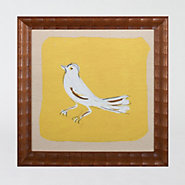 Framed Yellow Bird