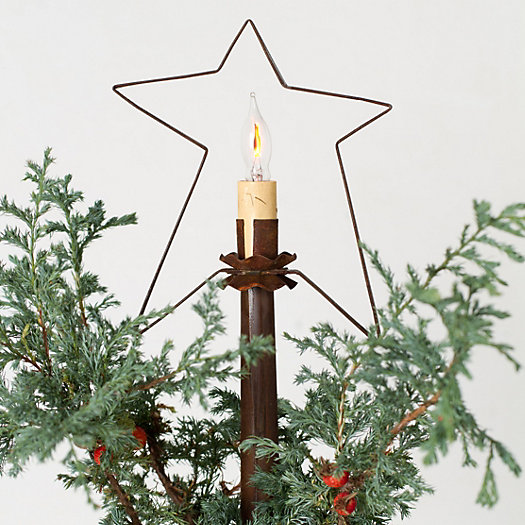 Tin Star Tree Topper