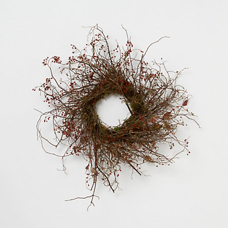 Dried Rosehip Wreath