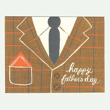 Well-Suited Father's Day Card