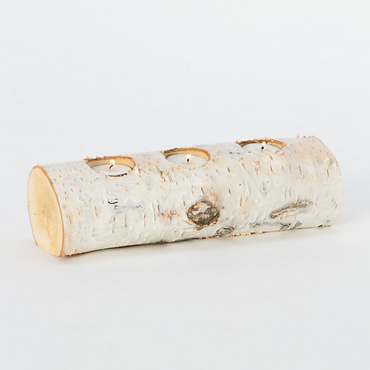 Fallen Birch Branch Votive
