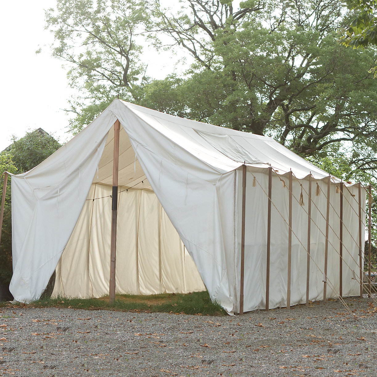 Outdoor Canvas Shelters : Outdoor canvas wall tent terrain