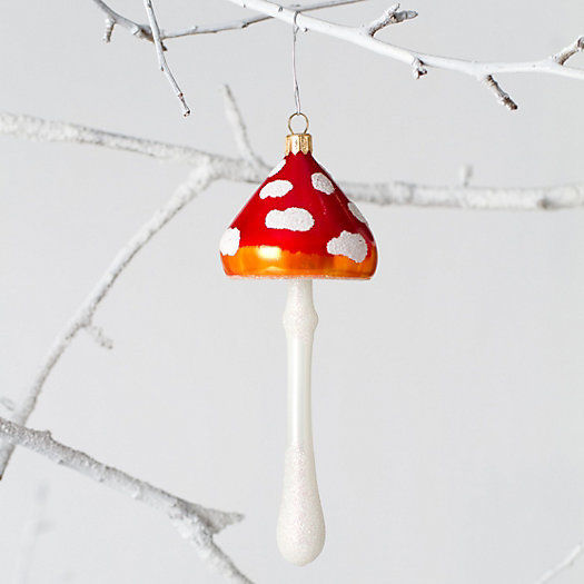 Sprouting Mushroom Ornament