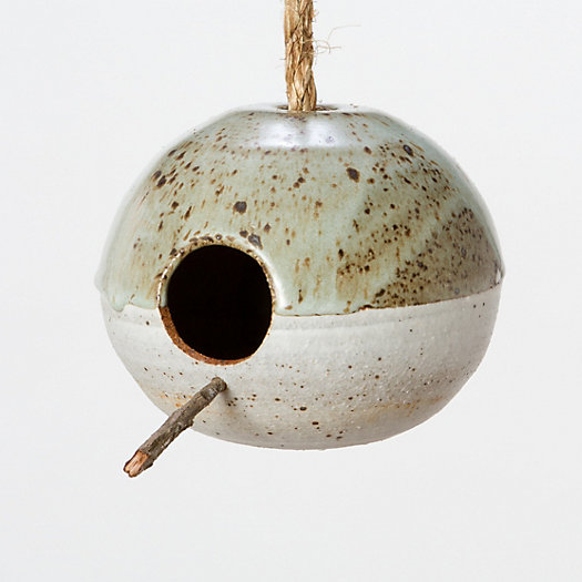 Mineral Birdhouse, Granite