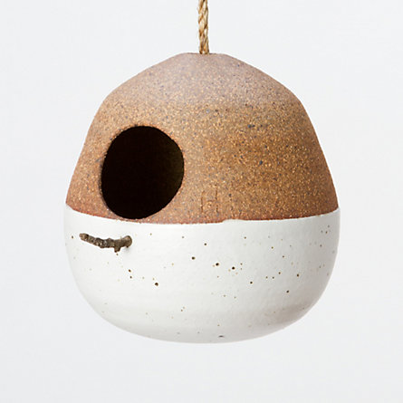 Mineral Birdhouse, Copper
