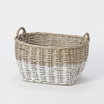 Colorblock Utility Basket, Medium