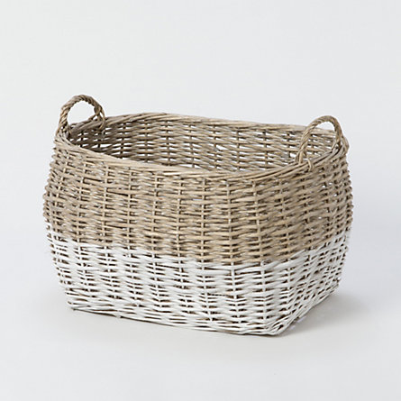 Colorblock Utility Basket, Large