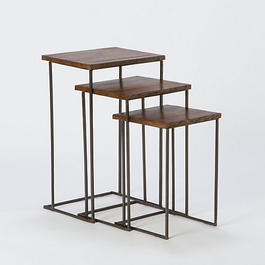 Railroad Nesting Table Set
