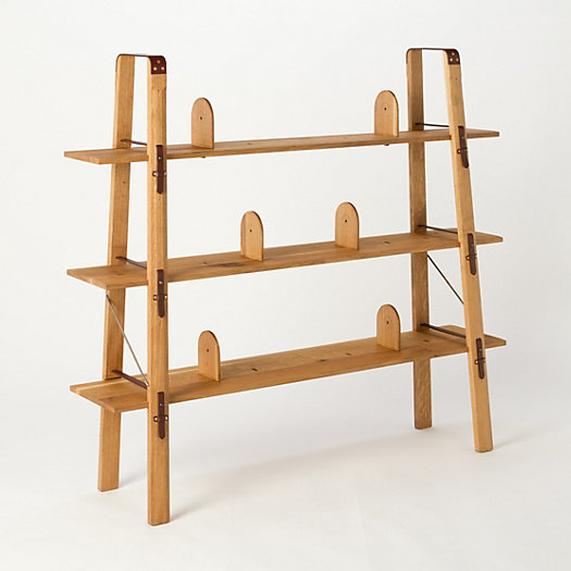 White Oakwood Shelf