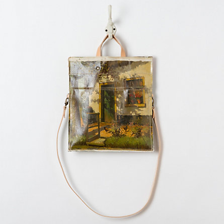 Barnyard Vintage Painting Bag