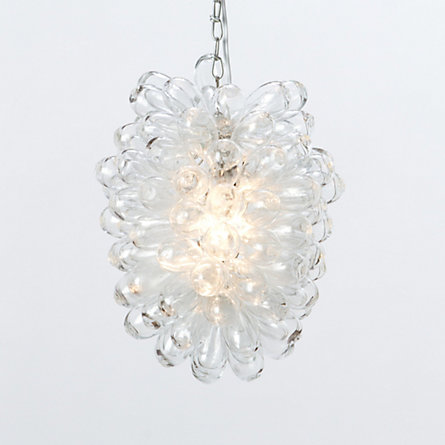 Soda Glass Chandelier