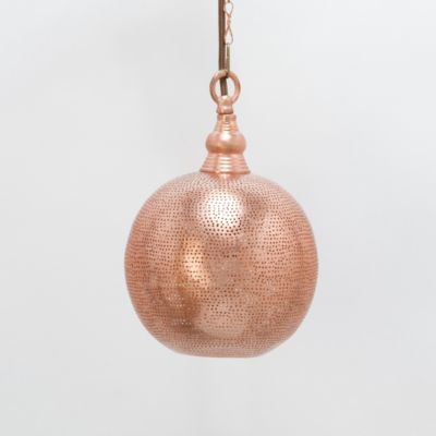 Copper Pin Dot Sphere