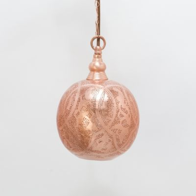 Copper Filigree Sphere