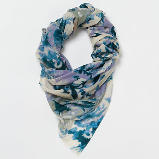 Cool Blooms Scarf