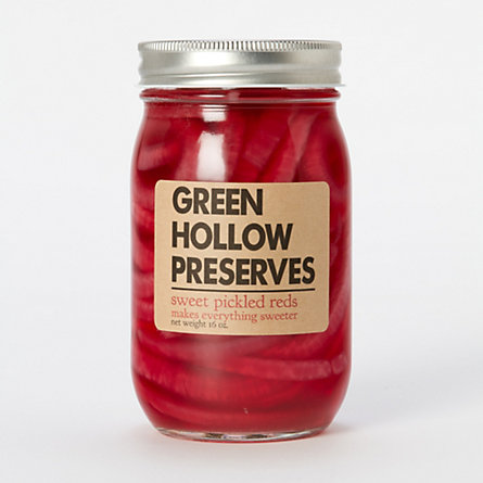 Green Hollow Preserves Sweet Pickled Reds