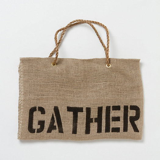 Gather Log Tote