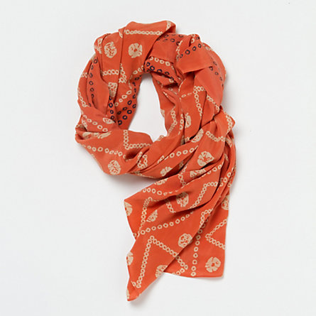 Dusted Coral Scarf