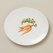 Garden Fresh Side Plate, Carrot