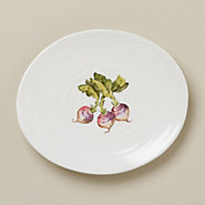 Garden Fresh Side Plate, Turnip