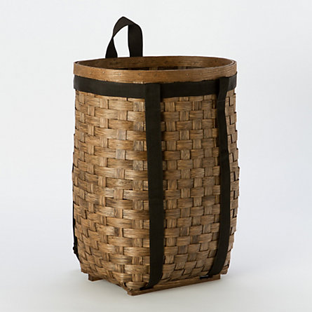 Woven Ash Wood Pack Basket