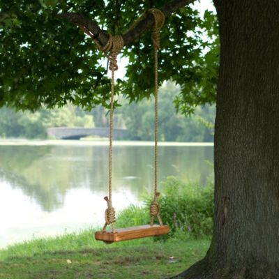 Reclaimed Floor Joist Tree Swing