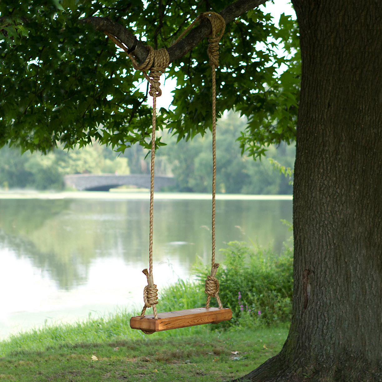 Reclaimed Floor Joist Tree Swing Terrain