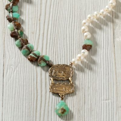 Lyric Chrysoprase Necklace