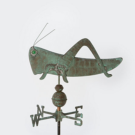 Copper Cricket Weathervane